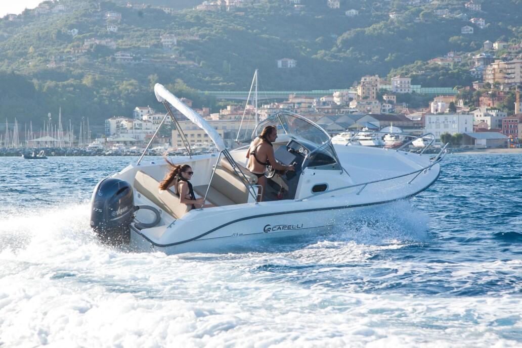 Boats Division - Cantieri Capelli - CAP 21.5 WA